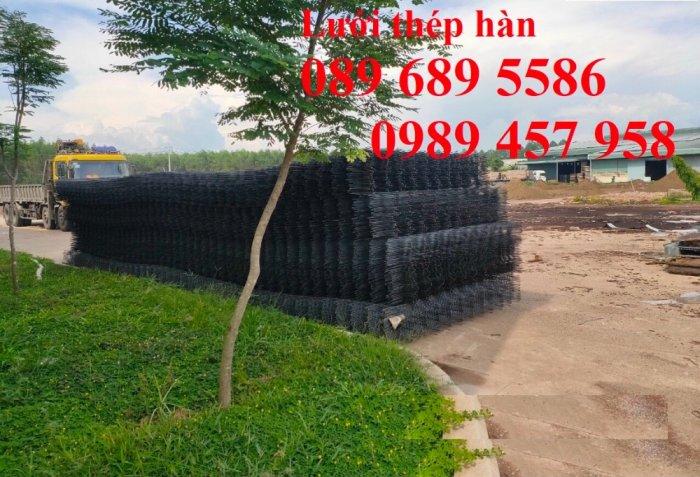 Lưới thép đổ bê tông phi 4 150x150, Thép đổ sàn phi 4 a 200x200, Lưới chống nóng D4 200x2007