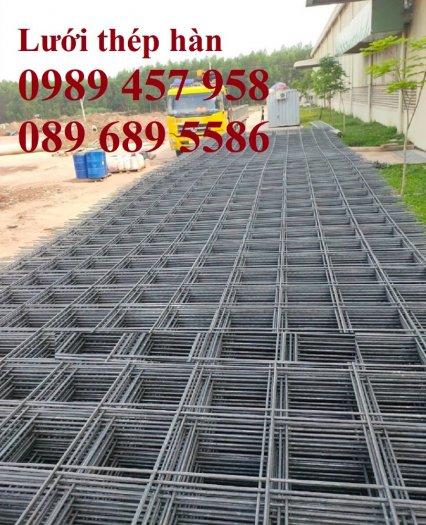 Lưới thép đổ bê tông phi 4 150x150, Thép đổ sàn phi 4 a 200x200, Lưới chống nóng D4 200x2006