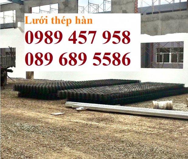 Lưới thép đổ bê tông phi 4 150x150, Thép đổ sàn phi 4 a 200x200, Lưới chống nóng D4 200x2003