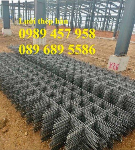 Lưới thép đổ bê tông phi 4 150x150, Thép đổ sàn phi 4 a 200x200, Lưới chống nóng D4 200x2001