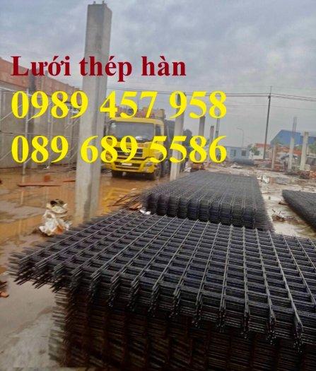 Lưới thép đổ bê tông phi 4 150x150, Thép đổ sàn phi 4 a 200x200, Lưới chống nóng D4 200x2000