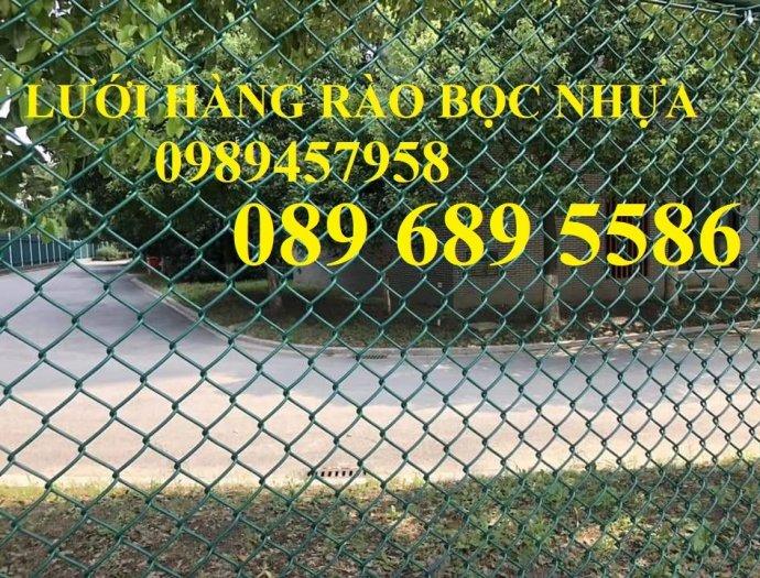 Lưới thép B40 bọc nhựa cho sân tennis, b40 bọc nhựa sân bóng đá mini, sân quần vợt4