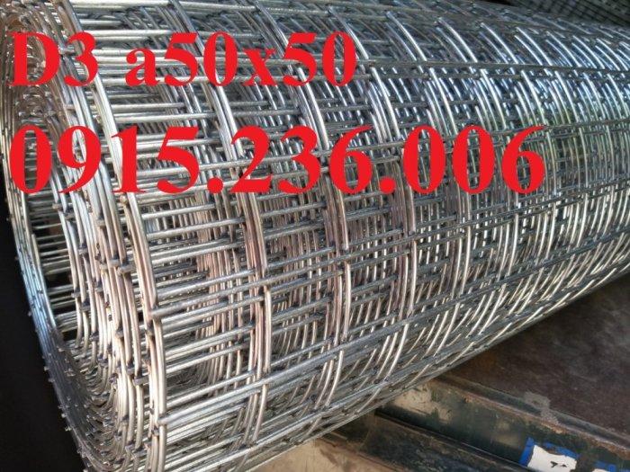 Lưới thép hàn mạ kẽm, lưới thép hàn phi 3 ô 50x50mm sẵn kho tại Hưng Yên5
