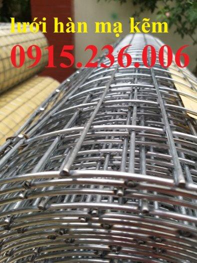 Lưới thép hàn mạ kẽm, lưới thép hàn phi 3 ô 50x50mm sẵn kho tại Hưng Yên2