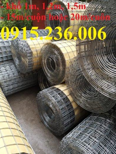 Lưới thép hàn mạ kẽm, lưới thép hàn phi 3 ô 50x50mm sẵn kho tại Hưng Yên1