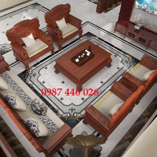 Gạch trang trí phòng khách HP6897