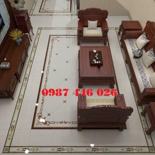 Gạch trang trí phòng khách HP6895