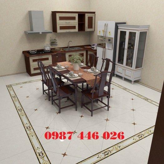 Gạch trang trí phòng khách HP6894