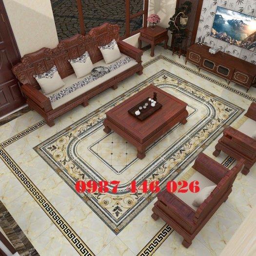 Gạch trang trí phòng khách HP6893