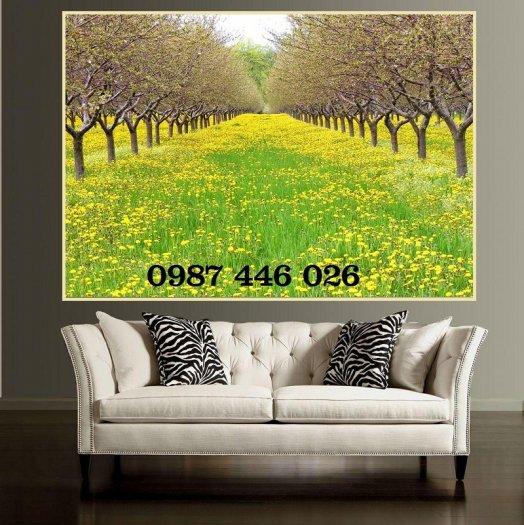 Gạch tranh phong cảnh thiên nhiên đẹp HP00045