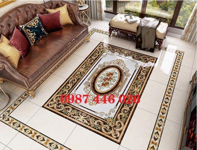 Thảm gach- gạch thảm- gạch trang trí sàn HP51054