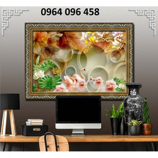 Báo giá tranh gạch 3d ốp tường - TB435