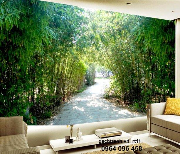 Tranh gạch 3d phòng khách - X437