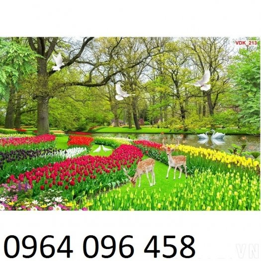 Gạch tranh 3d phong cảnh thiên nhiên - SX117