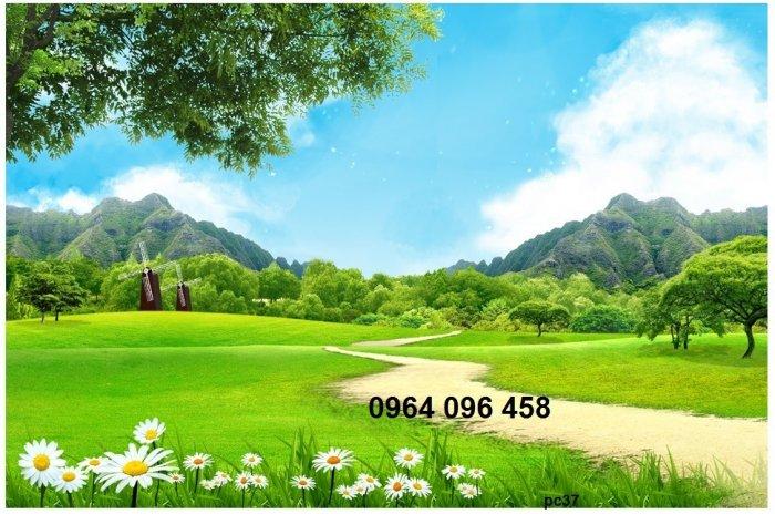 Gạch tranh 3d phong cảnh thiên nhiên - SX111