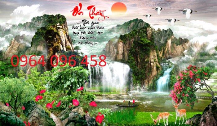 Tranh gạch 3d phong cảnh - XB448