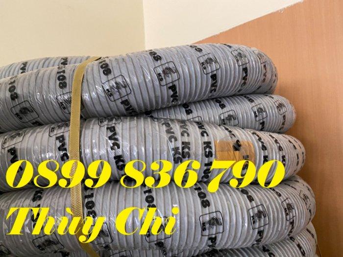 Giá ống hút bụi gân nhựa PVC phi 150mm17