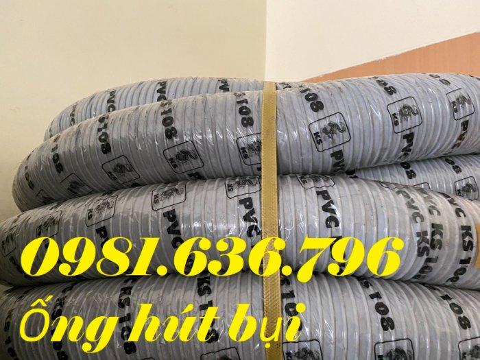 Giá ống hút bụi gân nhựa PVC phi 150mm15