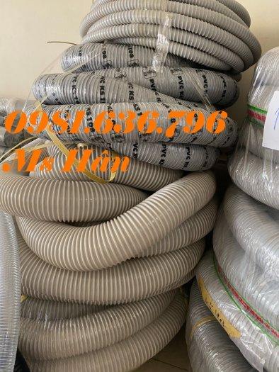 Giá ống hút bụi gân nhựa PVC phi 150mm10