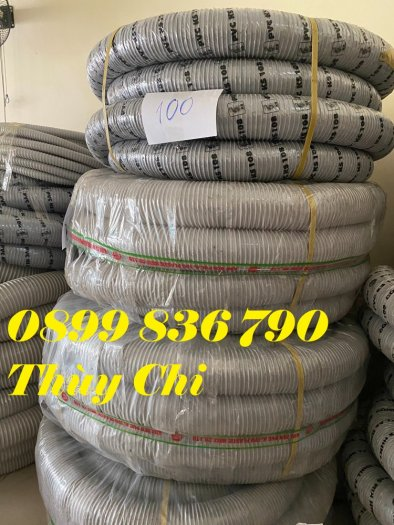 Giá ống hút bụi gân nhựa PVC phi 150mm9
