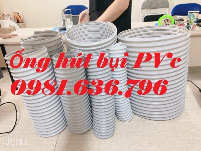 Giá ống hút bụi gân nhựa PVC phi 150mm7