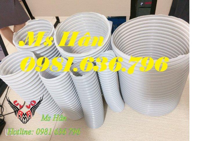 Giá ống hút bụi gân nhựa PVC phi 150mm4