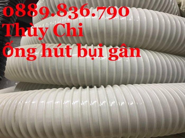 Giá ống hút bụi gân nhựa PVC phi 150mm0