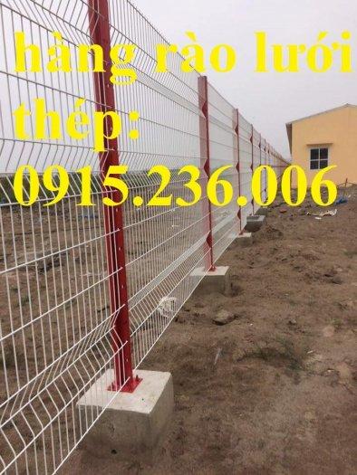 Hàng rào chấn sóng, hàng rào mạ kẽm chấn sóng phi 5 ô 50x150, 50x200 giá tốt1