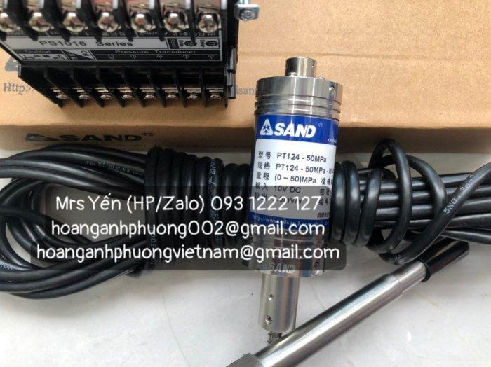Bộ cảm biến áp suất và đầu dò SAND PT124-50MPa-M14-150/370 / PS1016-050-200-311| Hàng nhập khẩu trực tiếp1