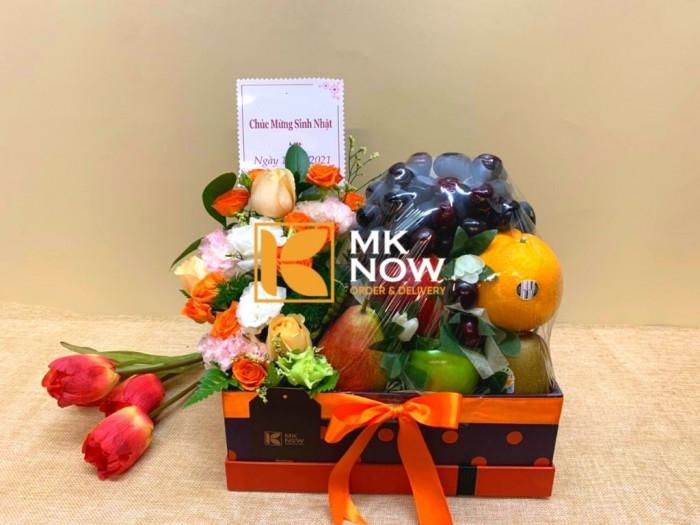 Hộp quà trái cây - Giỏ trái cây tặng sinh nhật