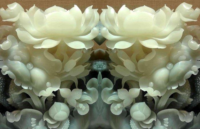 Tranh gạch men hoa sen HP90545