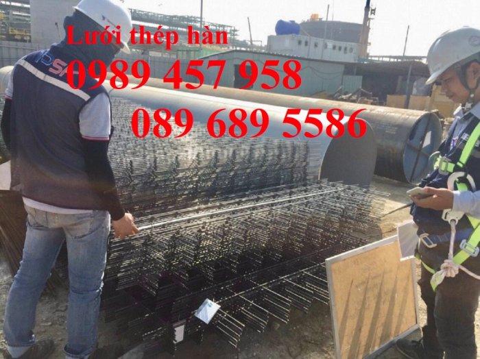 Nhà sản xuất thép hàn chập phi 8 a 200x200, Thép phi D8 a 200x200, Sắt phi 8 a 250x2506