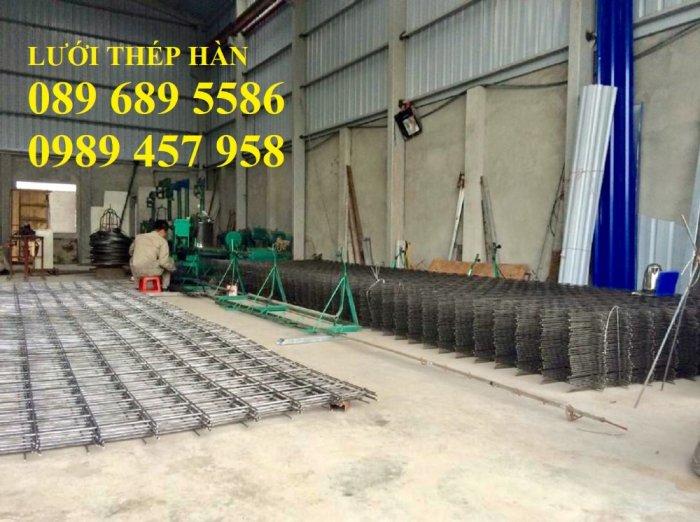 Nhà sản xuất thép hàn chập phi 8 a 200x200, Thép phi D8 a 200x200, Sắt phi 8 a 250x2503