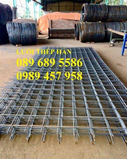 Nhà sản xuất thép hàn chập phi 8 a 200x200, Thép phi D8 a 200x200, Sắt phi 8 a 250x2501
