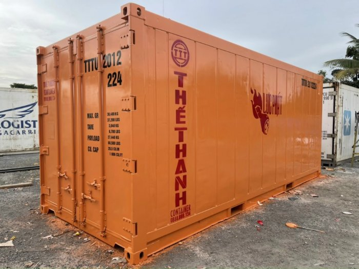 Kho lạnh container 20feet1