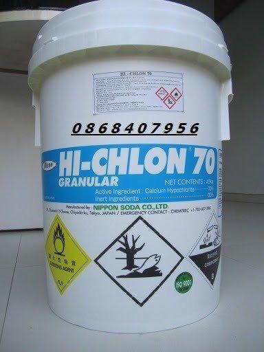 Hoá chất diệt khuẩn Chlorine Hi-Chlon 701