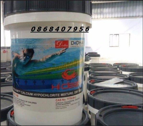 Hóa chất diệt khuẩn Chlorine Hi Clear1