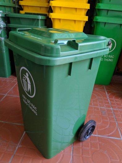 Thùng rác công cộng 100L0