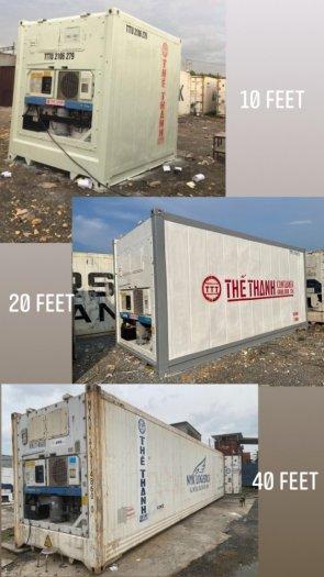 Container lạnh chứa hải sản hàng đông lạnh1