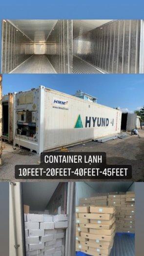 Container lạnh chứa hải sản hàng đông lạnh0