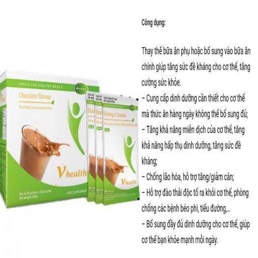 Vhealth bữa ăn dinh dưỡng giúp Tăng/Giảm cân an toàn tuyệt đối3