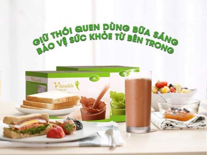 Vhealth bữa ăn dinh dưỡng giúp Tăng/Giảm cân an toàn tuyệt đối1