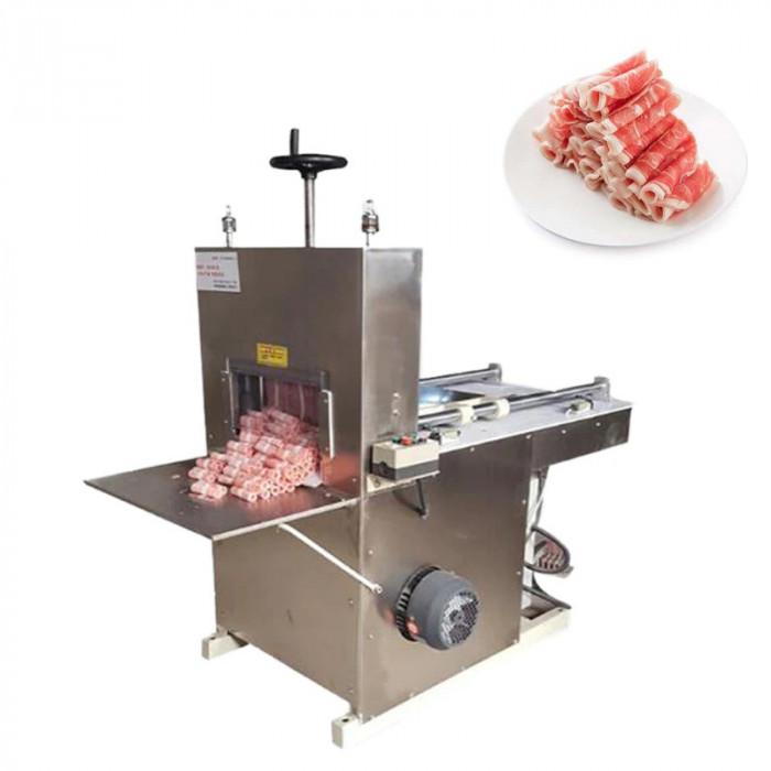Máy Thái Thịt tươi sống thịt bò đông lạnh1
