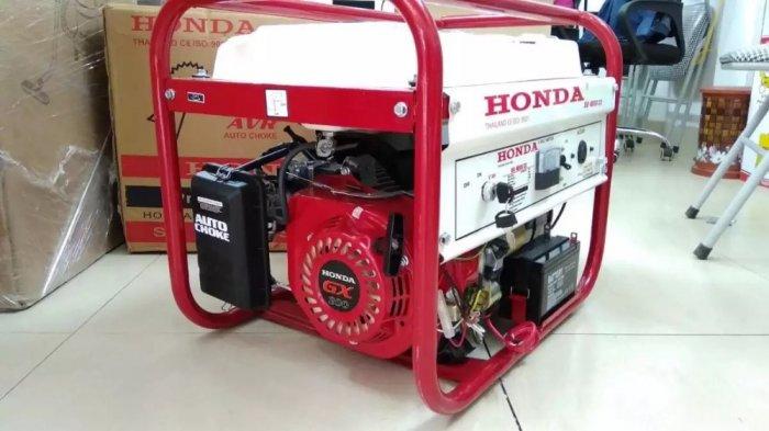 Máy phát điện cho gia đình công suất 3kw,máy phát điện chạy xăng Honda SH4500ex5