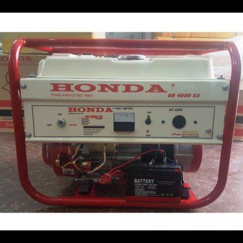 Máy phát điện cho gia đình công suất 3kw,máy phát điện chạy xăng Honda SH4500ex3