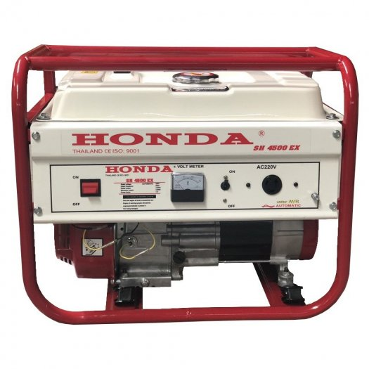 Máy phát điện cho gia đình công suất 3kw,máy phát điện chạy xăng Honda SH4500ex2