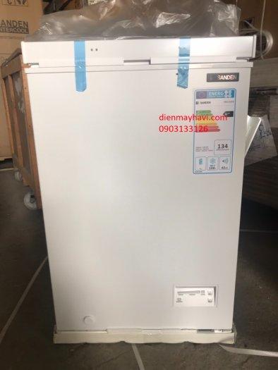Tủ Đông Inverter Sanden Intercool SNH-0105i 100 Lít Dàn Đồng1