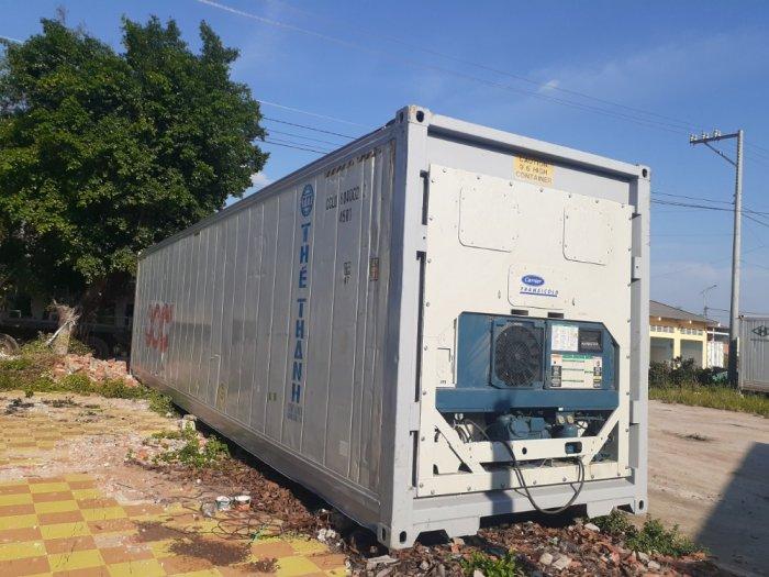 Container lạnh 40feet nhiệt độ âm2