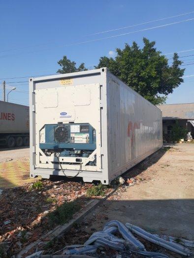 Container lạnh 40feet nhiệt độ âm1