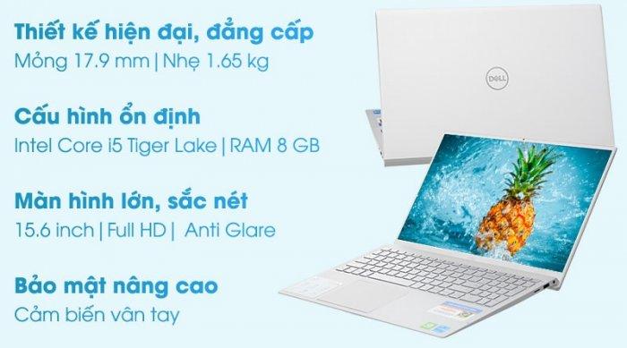 Dell Inspiron 5502 Gen 11th Core™ i5-1135G7 / RAM 8GB / SSD 256GB / FHD NEW FullBox8